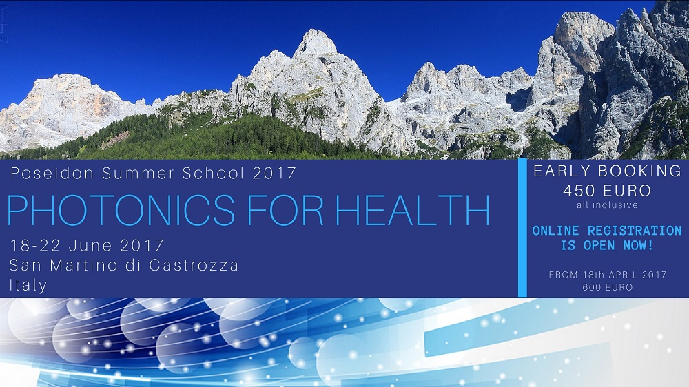 Photonics for Health Summer School - Click here to register