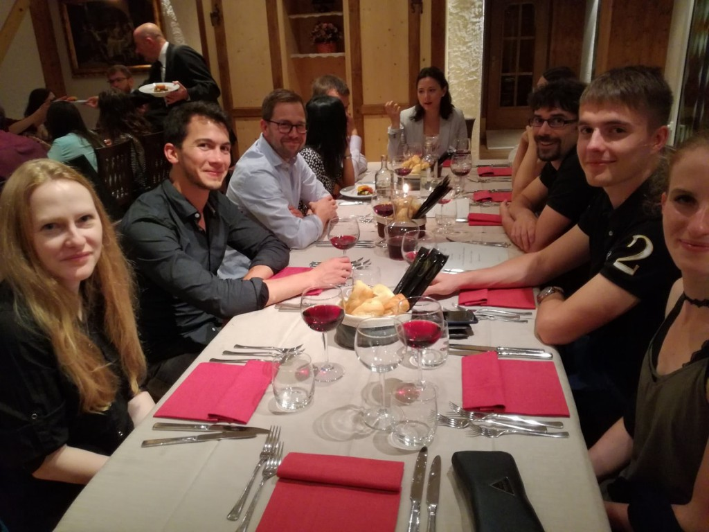 Gala Dinner at La Canisela Restaurant Poseidon Summer School 2017-min