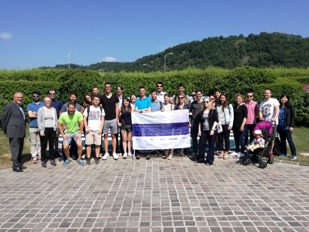 Poseidon Summer School 2017 at Clivet spa-min