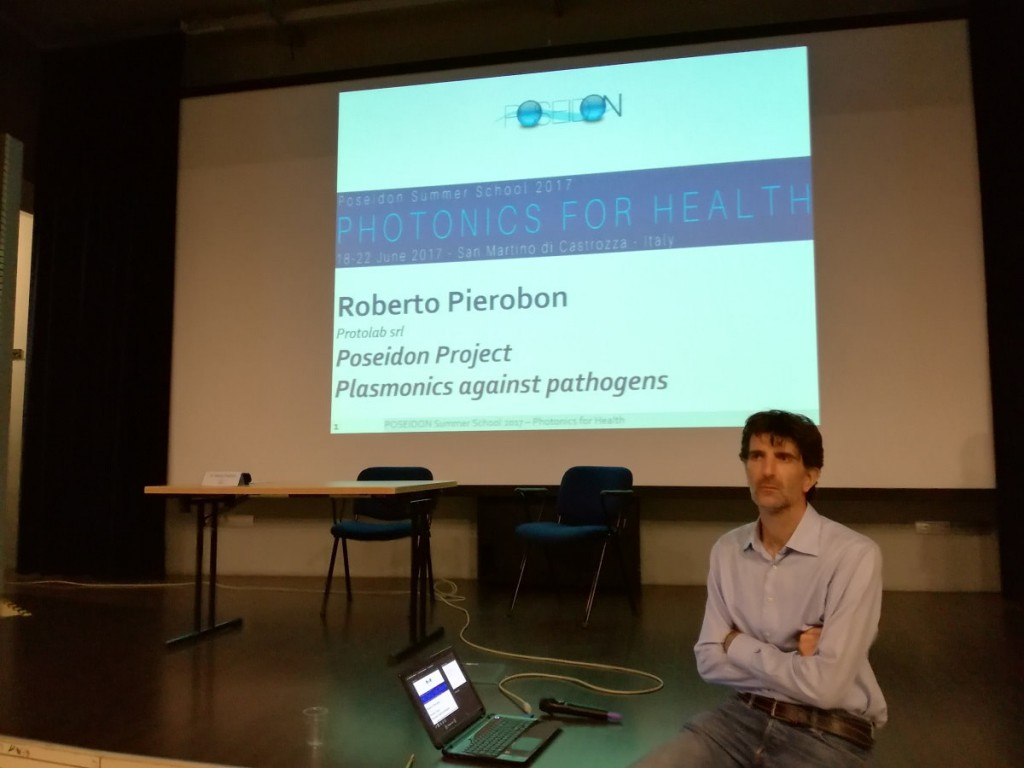 Roberto Pierobon at Poseidon Summer School 2017-min